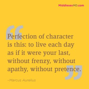 Perfection of character is this...
