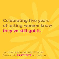 Celebrating five years